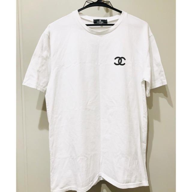 19800円 【うりきり】シャネル Tシャツ メンズ レディース dude9 メンズのトップス(Tシャツ/カットソー(半袖/袖なし))の商品写真