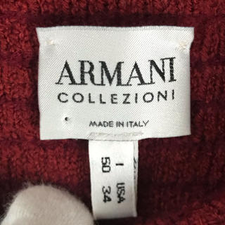 アルマーニ コレツィオーニ(ARMANI COLLEZIONI)の【送料無料】ARMANI COLLEZIONI チェック ニット・セーター(ニット/セーター)