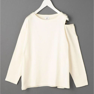 BEAUTY&YOUTH UNITED ARROWS - COTTON SHOULDER HOLE PULLOVER/カットソー