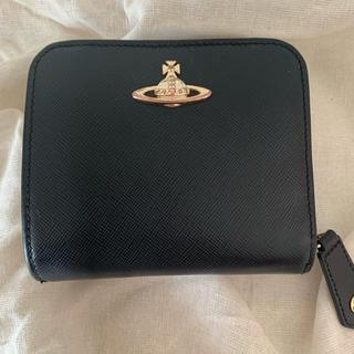 Vivienne Westwood - ヴィヴィアンウエストウッド 二つ折り財布 ブラック