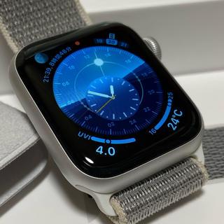 アップルウォッチ(Apple Watch)のApple Watch SERIES 4 40mm GPS シルバーアルミ(その他)