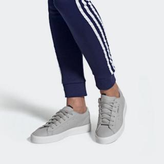 アディダス(adidas)の【新品未使用】アディダス adidas スリークW シルバー 24.5cm(スニーカー)