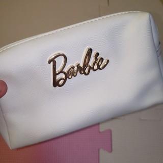 バービー(Barbie)のバービー ホワイト ポーチ(ポーチ)
