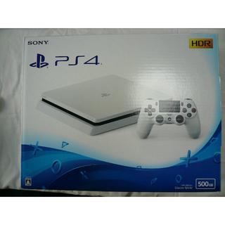PlayStation4 - PS4 CUH-2100A 本体 ホワイト 500GB
