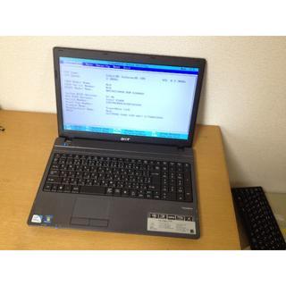 エイサー(Acer)のジャンクノートPC ACER TravelMate(ノートPC)