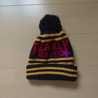 パーリーゲイツ(PEARLY GATES)の楽123様専用 パーリーゲイツ ニット帽(ニット帽/ビーニー)