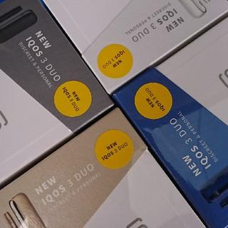 アイコス(IQOS)の《新品&未使用》IQOS 3 DUO 本体 まとめ売り (タバコグッズ)