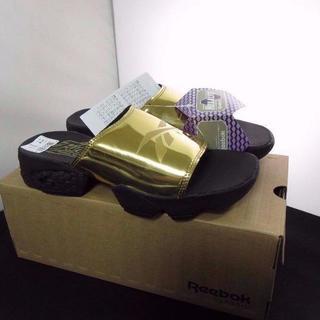 リーボック(Reebok)の新品 REEBOK Fury SlideMagicフューリーサンダル 24cm(サンダル)