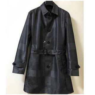 BLACK LABEL CRESTBRIDGE - 【新品】ブラックレーベル  日本製 ジャカードクレストブリッジコート  サイズL