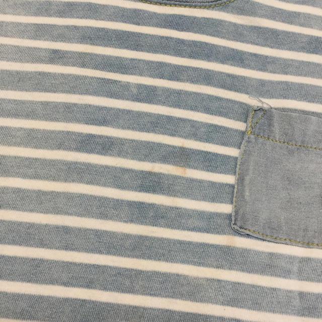 Donkey Jossy(ドンキージョシー)のbaby Donkey Jossy 半袖Tシャツ 電車アップリケ付 90 キッズ/ベビー/マタニティのキッズ服 男の子用(90cm~)(Tシャツ/カットソー)の商品写真