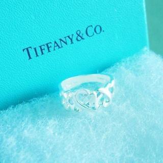 ティファニー(Tiffany & Co.)の☆新品☆未使用☆ティファニー パロマピカソトリプルラビングハートリング10号(リング(指輪))