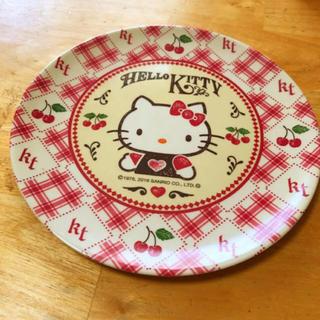 ハローキティ(ハローキティ)のキティ お皿(日用品/生活雑貨)