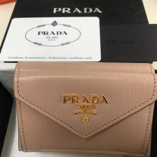 PRADA - 【新品未使用】PRADA VITELLO MOVE 三つ折り財布 CAMMEO