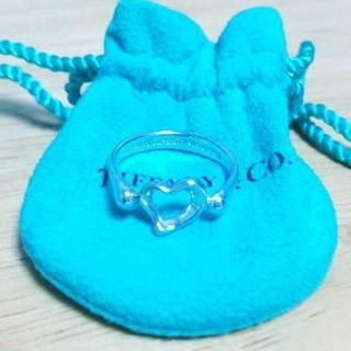 ティファニー(Tiffany & Co.)の☆新品☆未使用☆ティファニー センターオープンハートリング11号(リング(指輪))