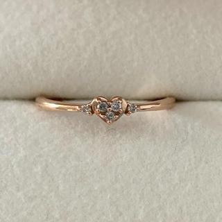canal4℃ - Canal4℃♪K10ピンクゴールドダイヤモンドリング指輪送料無料