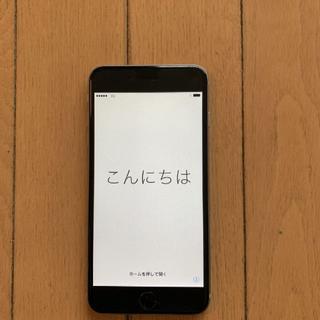 iPhone - iPhone 6 Plus 本体 SpaceGray 64GB au