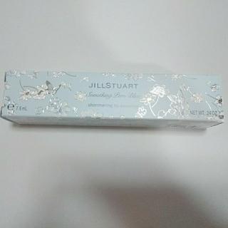 ジルスチュアート(JILLSTUART)のジルスチュアート サムシングピュアブルー シマリングリップエッセンス 未使用品(リップグロス)
