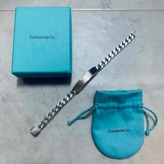 Tiffany & Co. - Tiffany ティファニー ID ブレスレット シルバー チェーン 喜平