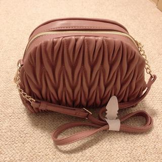 しまむら - miumiu風 ショルダー バッグ ピンク