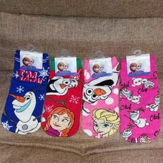 Disney - Disney ディズニー アナと雪の女王  靴下 4足セット