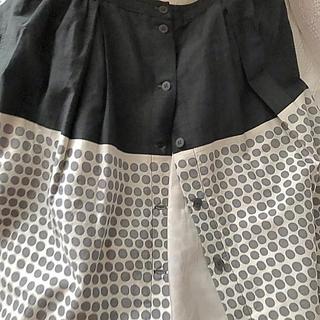 マリメッコ(marimekko)のmarimekkoのドットスカート(ひざ丈スカート)