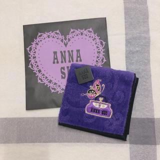 アナスイ(ANNA SUI)のアナスイのタオルハンカチ * 新品 袋付き(ハンカチ)