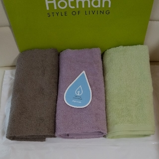 ホットマン(HOTMAN)1秒フェースタオル×3