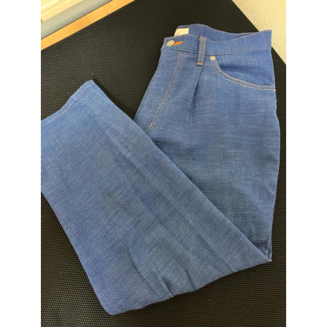 COMOLI(コモリ)のwellder 19ss one tuck tapered trousers メンズのパンツ(スラックス)の商品写真