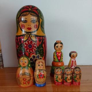 マトリョーシカ いろいろ ロシア製