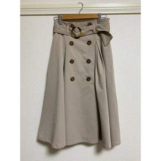 ダズリン(dazzlin)のトレンチスカート(ひざ丈スカート)