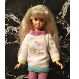 バービー人形  バービー 妹 スキッパー  人形  お洋服 靴 付き!
