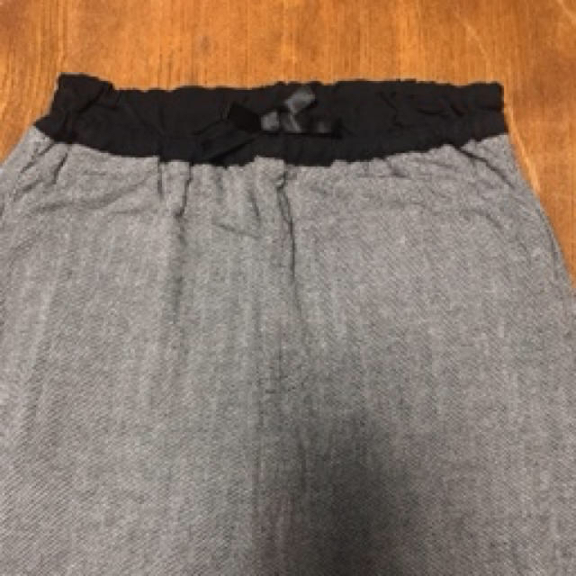 GU(ジーユー)のGU ヘリンボーンパンツ 120 即完売品 キッズ/ベビー/マタニティのキッズ服 女の子用(90cm~)(パンツ/スパッツ)の商品写真