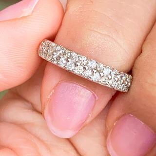 美品‼️  0.50ct k18 ダイヤモンドリング k18 ダイヤリング(リング(指輪))