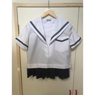 セーラー服 高校制服夏 上着2枚 ミニスカート1枚