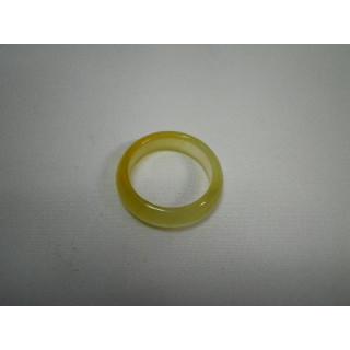 L2-14●パワーストーン●天然石メノウ指輪●瑪瑙 めのう●15.5号リング●(リング(指輪))