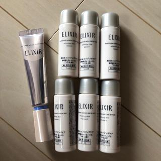ELIXIR - 資生堂 エリクシール ホワイト リンクルクリーム&化粧水&乳液