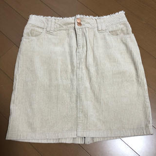 カスタネ(Kastane)のコーデュロイスカート(ひざ丈スカート)