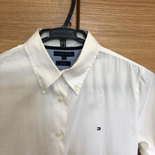 TOMMY HILFIGER - TOMMYFILFIGER ホワイトシャツ