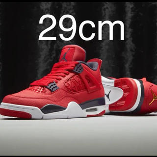 NIKE - nike air jordan4 fiba gym red 29cm ジョーダン