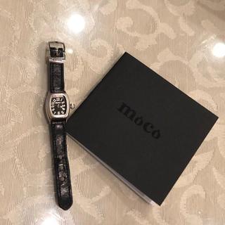 【世界✨初】リング時計  moco シルバー✨(リング(指輪))