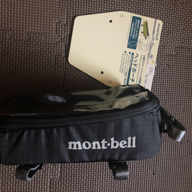 mont bell(モンベル)のmontbell モンベル トップチューブバック フレームバック  スポーツ/アウトドアの自転車(バッグ)の商品写真