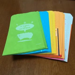 フェリシモ(FELISSIMO)の全部柄が違う封筒 44枚(カード/レター/ラッピング)