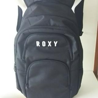 ロキシー(Roxy)のロキシー25L大リック新品保冷機能的ポケット黒ロゴ2個所入り。(リュック/バックパック)