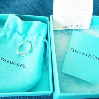 ティファニー(Tiffany & Co.)の☆新品☆未使用☆ティファニー センターオープンハートリング10号(リング(指輪))