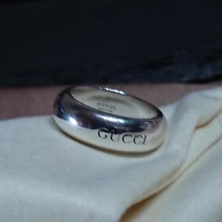 グッチ(Gucci)のGUCCI★丸みの型のロゴリング(リング(指輪))