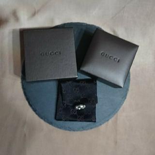 Gucci - GUCCI★丸みの型のロゴリング