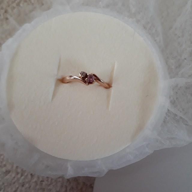 4℃(ヨンドシー)のK10 4℃ リング レディースのアクセサリー(リング(指輪))の商品写真