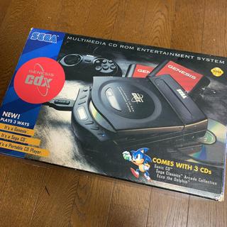 SEGA - SEGA Genesis CDX ゲーム機