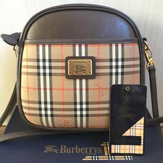 BURBERRY - ほぼ未使用品♡極美品 Burberryバーバリー ノバチェック ショルダーバッグ