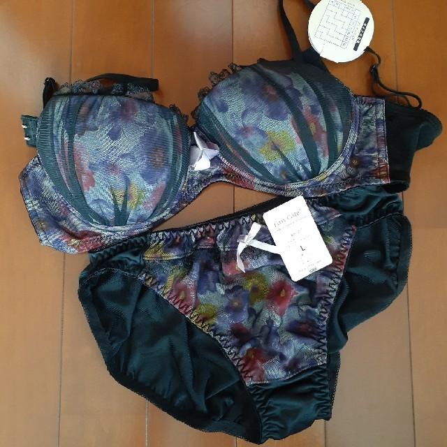 ノンワイヤー ブラショーツセット レディースの下着/アンダーウェア(ブラ&ショーツセット)の商品写真